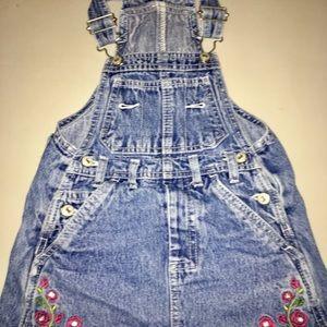 Children's Place Bottoms - Children's Place 3T Overall Skirt (Skirtalls)